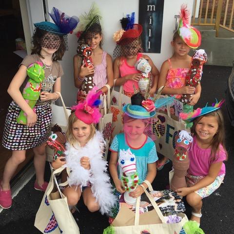 girls showing creations campKenzie