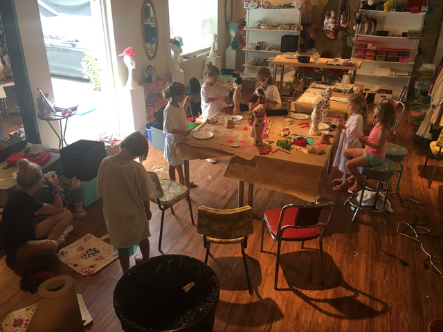 Camp Mackenzie Ann arts and crafts