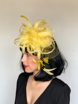 Kenzie Kapp Yellow Derby Hat
