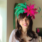 magenta jade derby hat