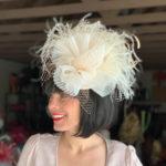 White Kentucky Derby hat