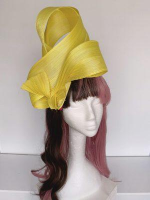 Bright Yellow Fabric